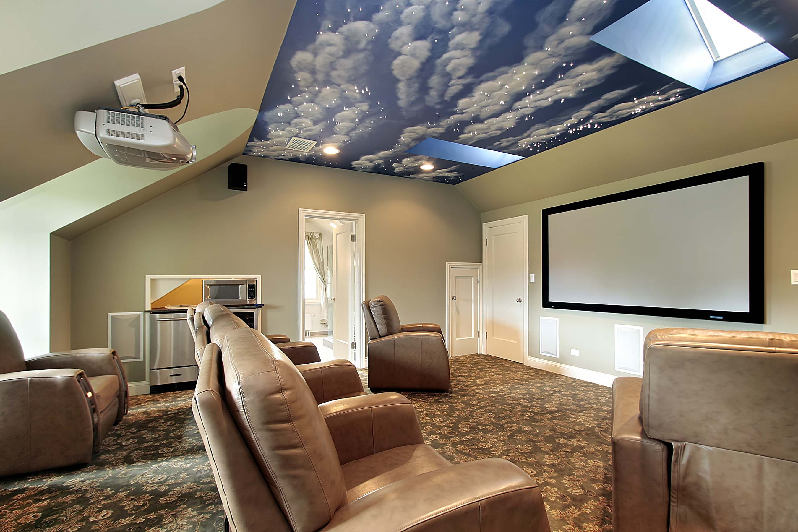 Projector gallery master av services for Best room in the house