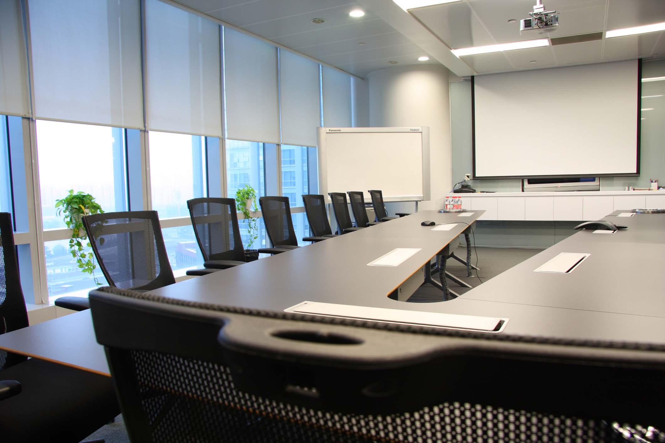 Meeting Room Projector Setup