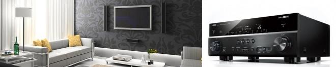 home cinema with av receiver