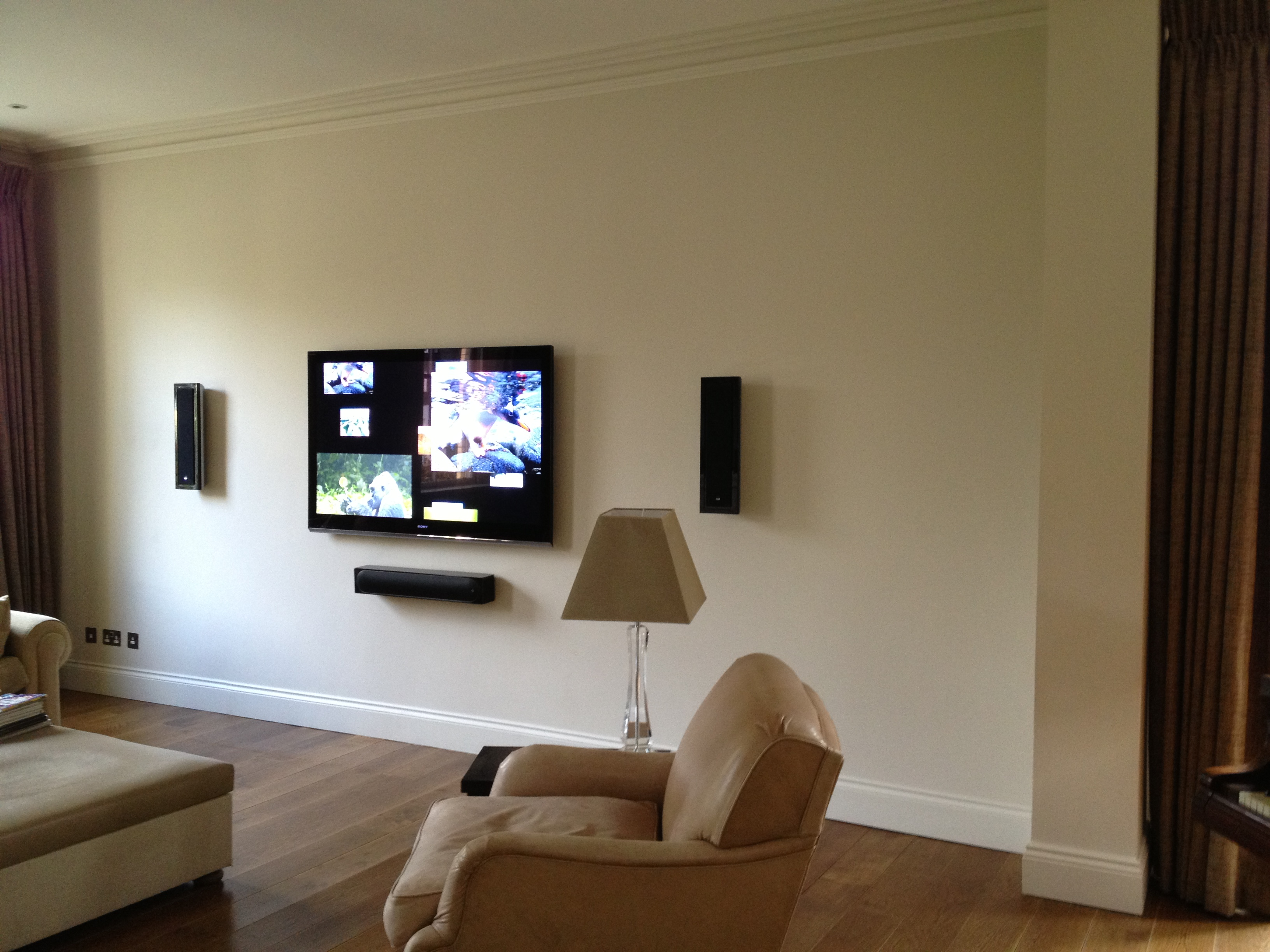 Home Cinema Gallery Master Av Services # Meuble Tv Sony Home Cinema