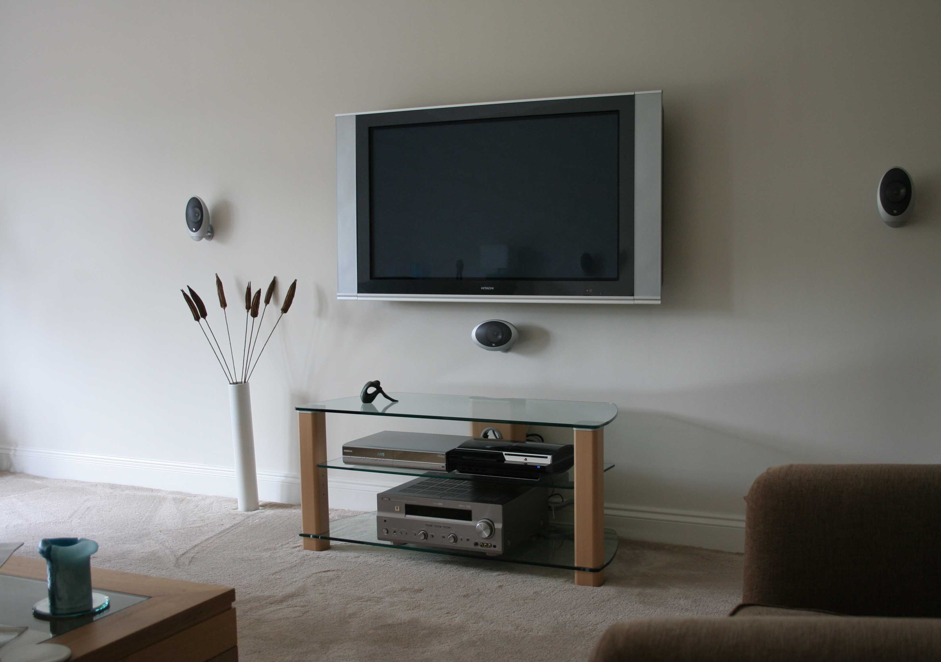 Sony Tv Cabinet With Speakers