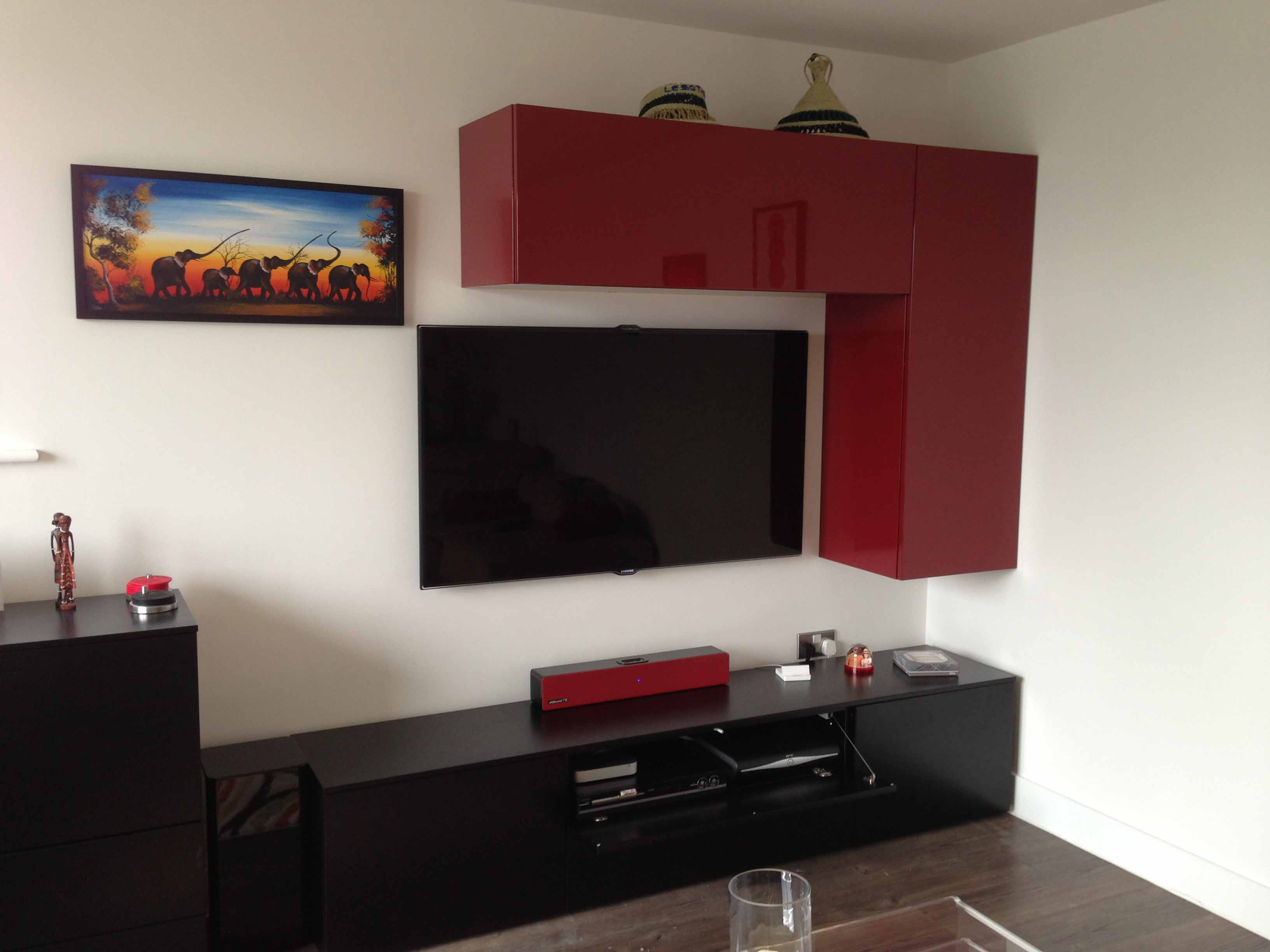 Tv Gallery Master Av Services # Meuble Tv D Angle Design