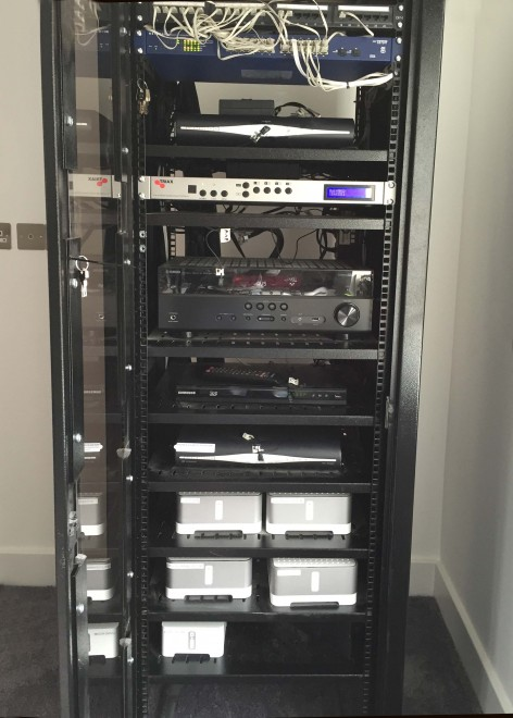 Equipment AV Rack